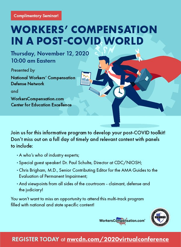 Workers' Compensation in a Post COVID World